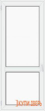 Балконная дверь ПВХ глухая