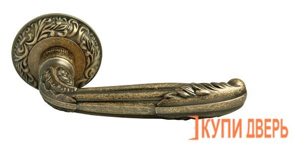 Ручка дверная RAP-CLASSIC 2 OMB Старая Матовая Бронза