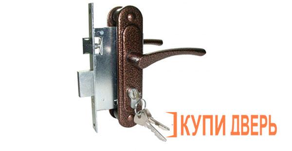 Ручка дверная Зенит с механизмом