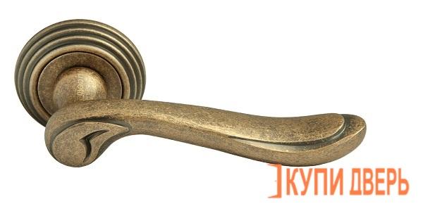 Ручка дверная RAP-CLASSIC-L 6 OMB Старая Матовая Бронза