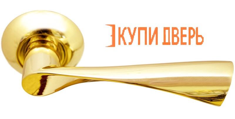 """Ручная дверная MH-01 GP """"Капелла"""" Золото"""
