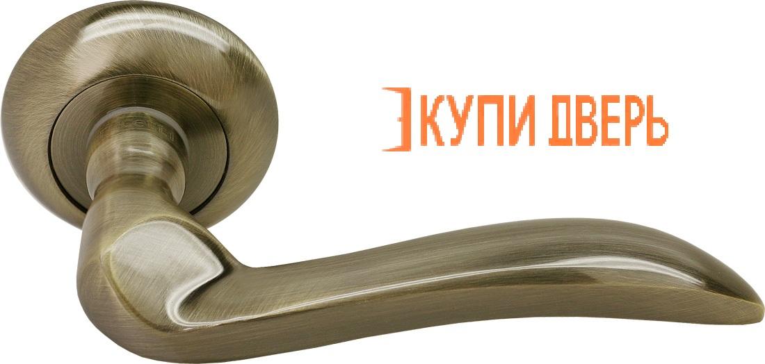 Ручка дверная RAP 10 AB Античная бронза