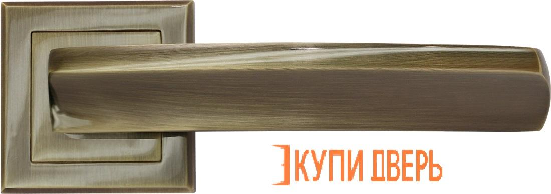 Ручка дверная RAP 11-S AB Античная бронза