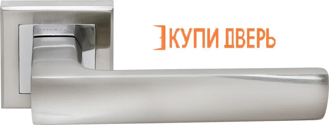 Ручка дверная RAP 14-S SN/CP Белый никель/Хром