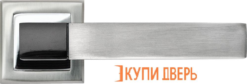 Ручка дверная RAP 16-S SN/CP Белый никель/Хром
