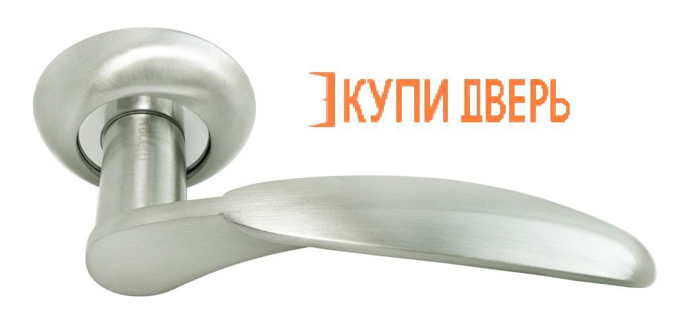Ручка дверная RAP 5 SN Белый никель/Хром