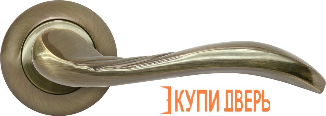 Ручка дверная RAP 9 AB Античная бронза
