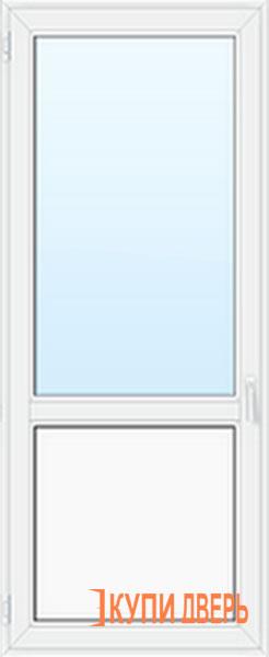 Балконная дверь ПВХ остекленная