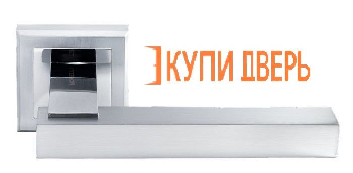 """Ручная дверная DIY MH-37 SC/CP S """"Piquadro""""  Матовый хром/Хром"""