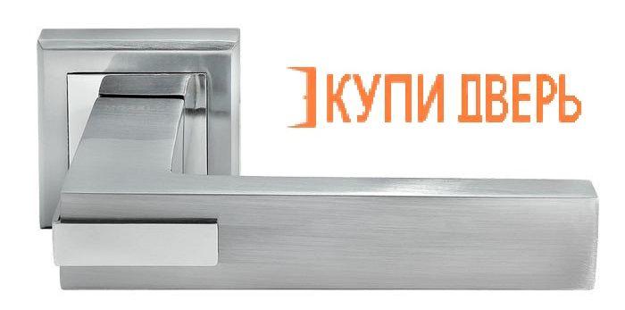 Ручная дверная DIY MH-43 SC/CP S Матовый хром/Хром
