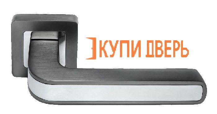 Ручная дверная DIY MH-46 GR/CP-S55 Графит/Хром