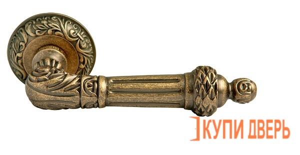 Ручка дверная RAP-CLASSIC 3 OMB Старая Матовая Бронза