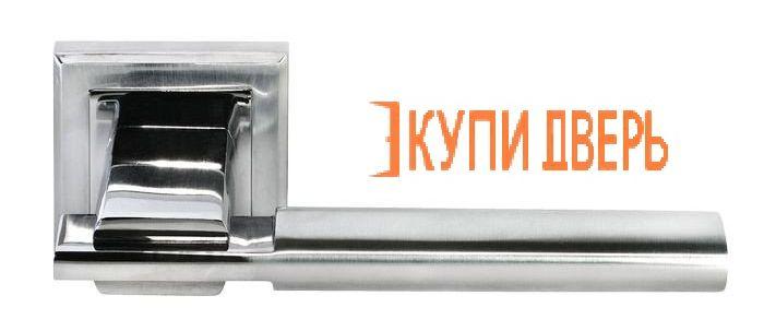 """Ручная дверная DIY MH-13 SC/CP S """"Упоение"""" Матовый хром/Хром"""