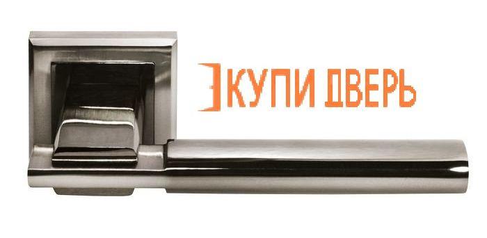 """Ручная дверная DIY MH-13 SN/BN S """"Упоение"""" Белый никель/Черный никель"""