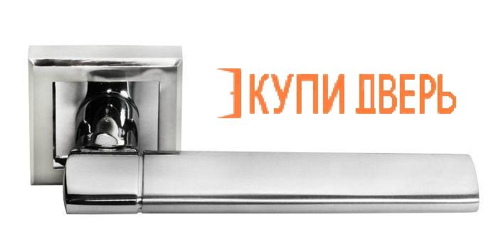 """Ручная дверная DIY MH-21 SC/CP S """"Agbar"""" Матовый хром/Хром"""