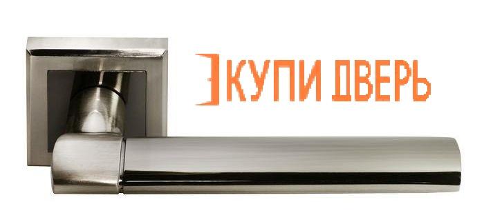 """Ручная дверная DIY MH-21 SN/BN S  """"Agbar"""" Белый никель/Черный никель"""