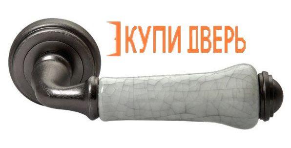 Ручная дверная MH-41-CLASSIC OMS/GR Cтарое матовое серебро/Серый