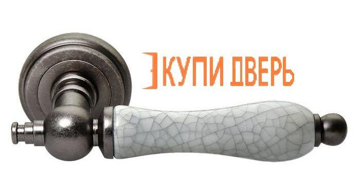 Ручная дверная MH-42-CLASSIC OMS/GR Cтарое матовое серебро/Серый
