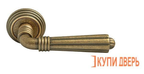 Ручка дверная RAP-CLASSIC-L 5 OMB Старая матовая бронза