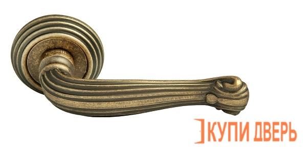 Ручка дверная RAP-CLASSIC-L 4 OMB Старая Матовая Бронза