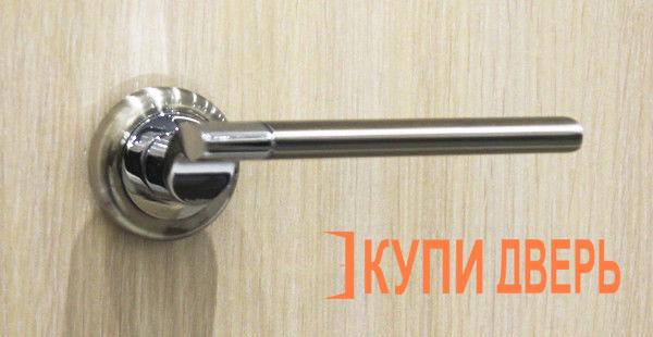 Дверная ручка Капри хром (никель)