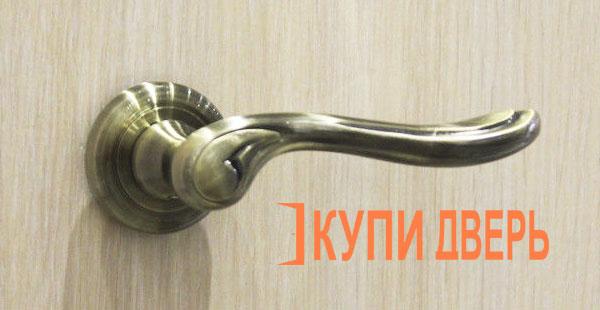 Дверная ручка Нардо бронза