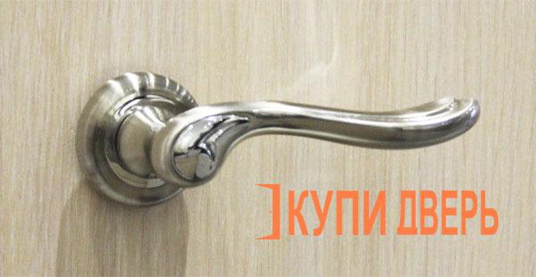 Дверная ручка Нардо хром (никель)