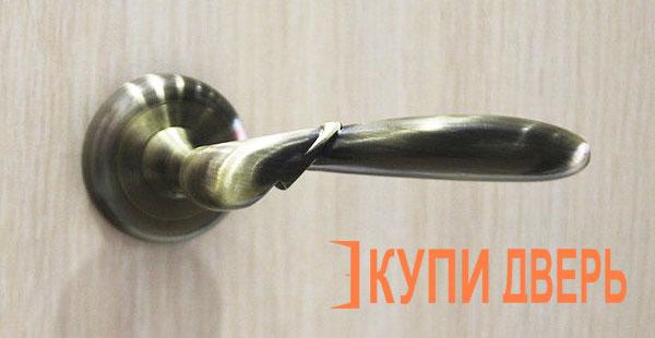 Дверная ручка Палермо бронза