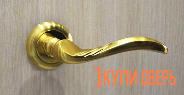 Дверная ручка Пиза золото