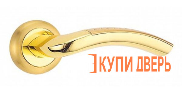 Дверная ручка Рим золото