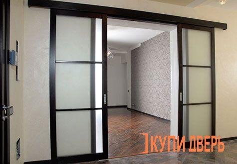 откатные двери межкомнатные стеклянные купить в минске