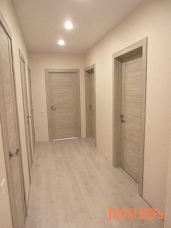 Интерьер выбор цвета дверей