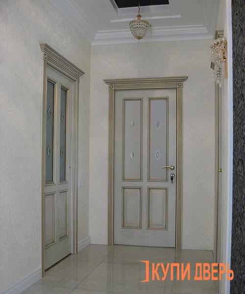 Двери цвета слоновая кость | 600x500