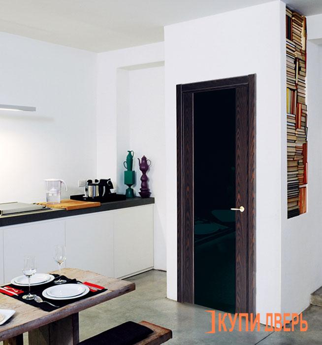 Фото дверей цвета венге в интерьере фото